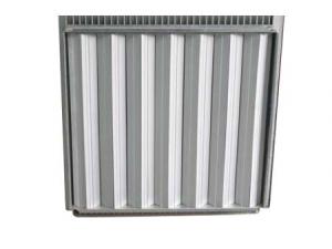 鋁合金通風地板背面可調